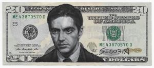Al Pacino, acrylic on canvas